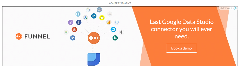 Funnel display ad