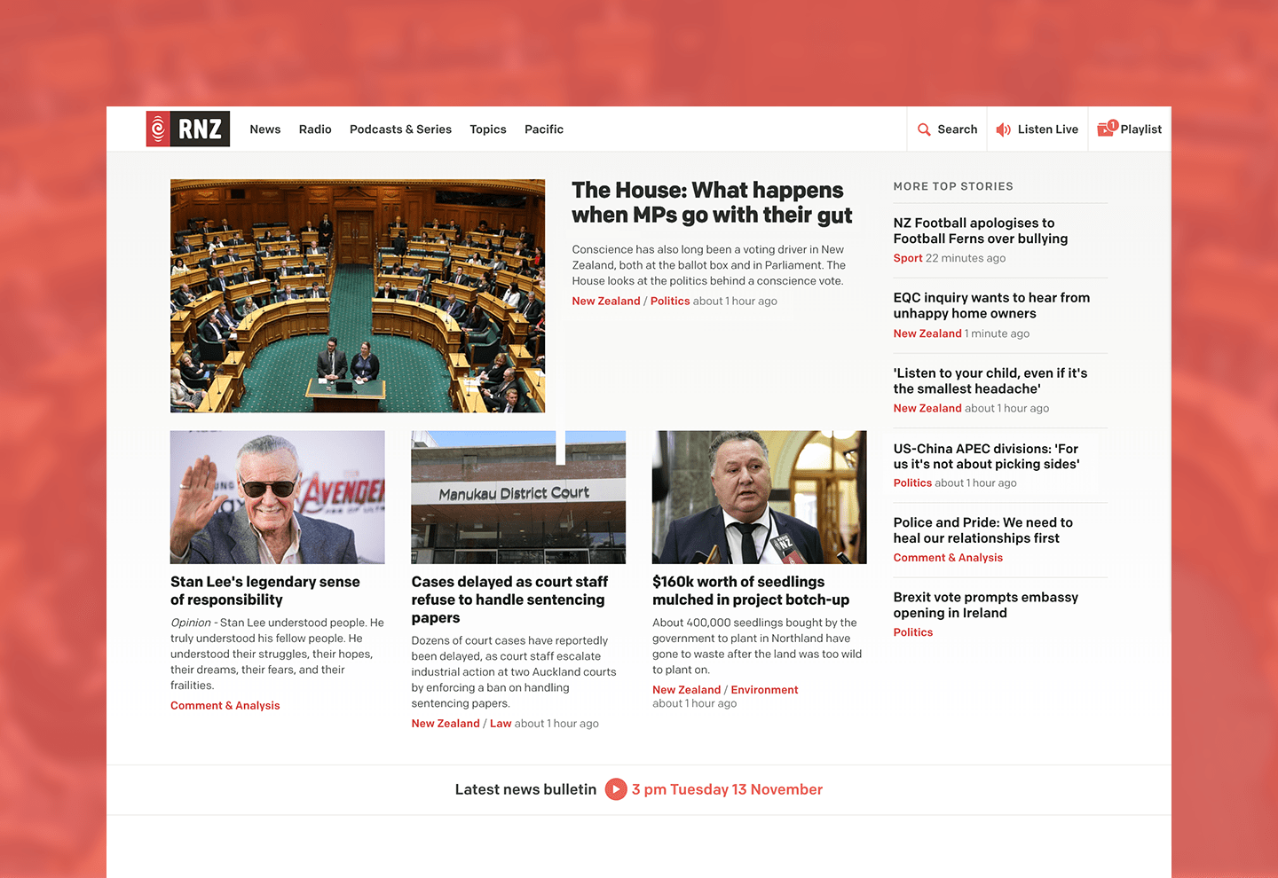 RNZ Website feed image
