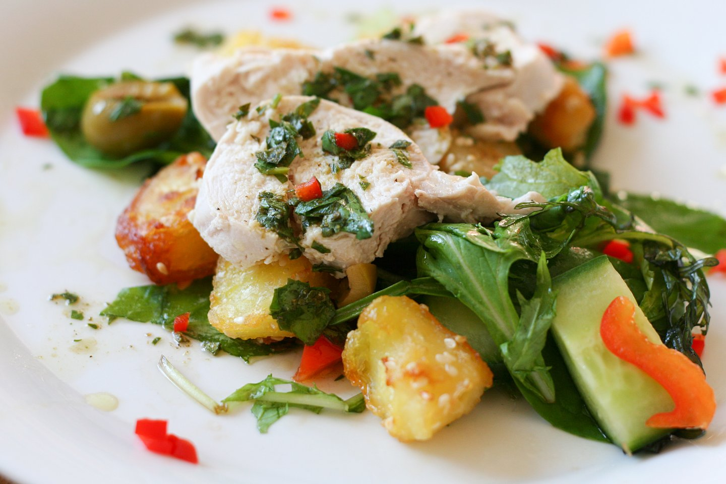 Chimichurri Chicken – plated